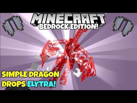 Minecraft 1 9: How To Make The Ender Dragon Drop Elytra Tutorial