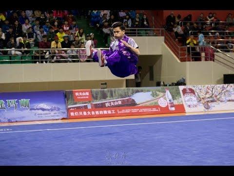 男子地躺拳 ditangquan 第一名 浙江队 马家军 9.05分 zhe jiang ma jia jun