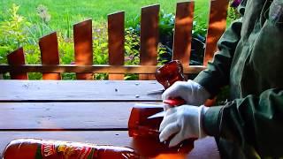 Спасаю  баклажаны  от  жука,  без химии!