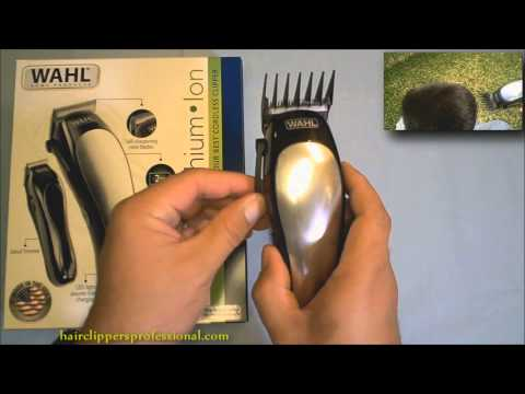 Wahl Clippers – Lithium Ion Cordless Hair Clipper Review Demo