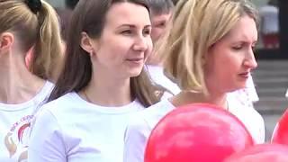«SOS» та «103»: День працівника екстреної медицини відзначили флешмобом