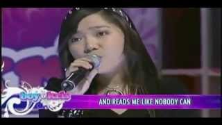 Charice sings Air Supply's 'Come What May'