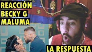 Becky G, Maluma   La Respuesta (Official Video) (REACCIÓN)