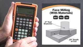 Machinist Calc Pro 2 Feed and Speed with Materials How To Calculate