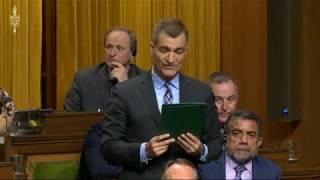 February 19, 2019 Question to Hon. Marc Garneau regarding the Environment