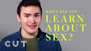 When Did You Learn About Sex?