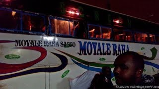 BREAKING NEWS: Unknown assailants attack Moyale raha bus destined to Nairobi killing two