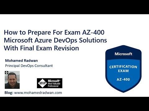 Microsoft Azure Exam | AZ 400 | Azure DevOps | Microsoft ...