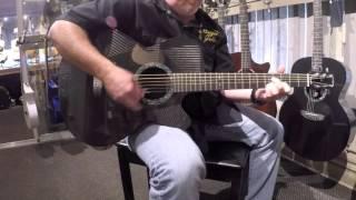 Rainsong Black Ice BI-WS1000N2 Acoustic Guitar SN# 16821