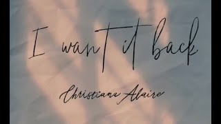 Christiana Alaire I Want It Back