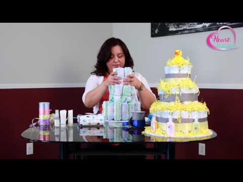 mp4 Decorate Diaper Cake, download Decorate Diaper Cake video klip Decorate Diaper Cake