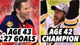 The GREATEST NHL Seasons By Players 40 And Older