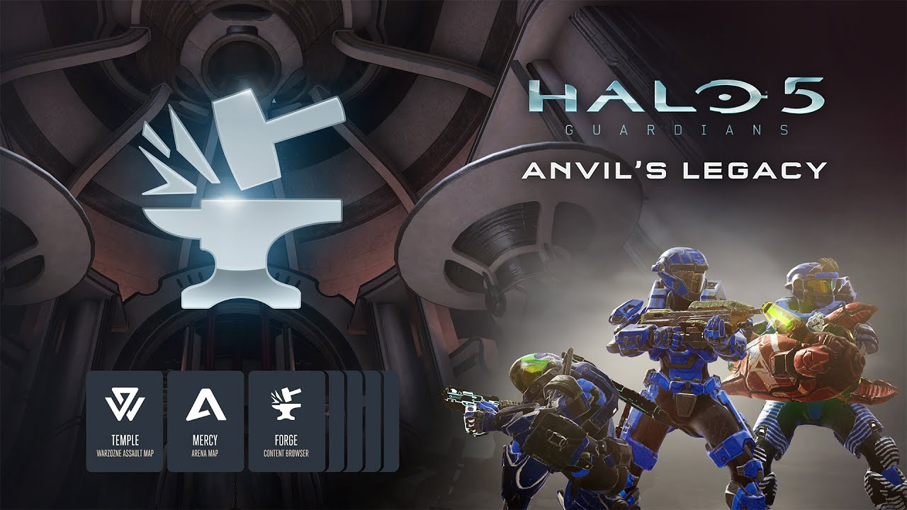 Halo 5: Forge / Anvil's Legacy Trailer