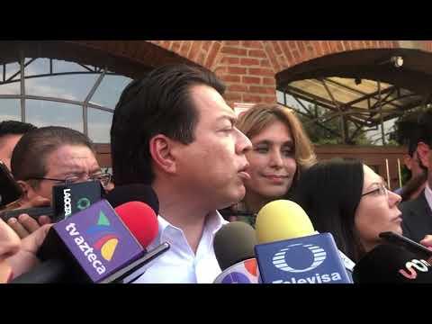 Diputados Laura Rojas y Mario Delgado | Enrique Vargas, alcalde de Huixquilucan |12/11/19