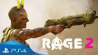 RAGE 2 | Eden Assault – Extended Gameplay Trailer | PS4