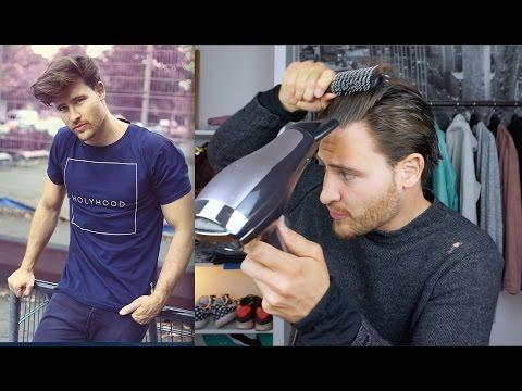 Haarstyling TUTORIAL für Männer - bei mittellangen Haaren
