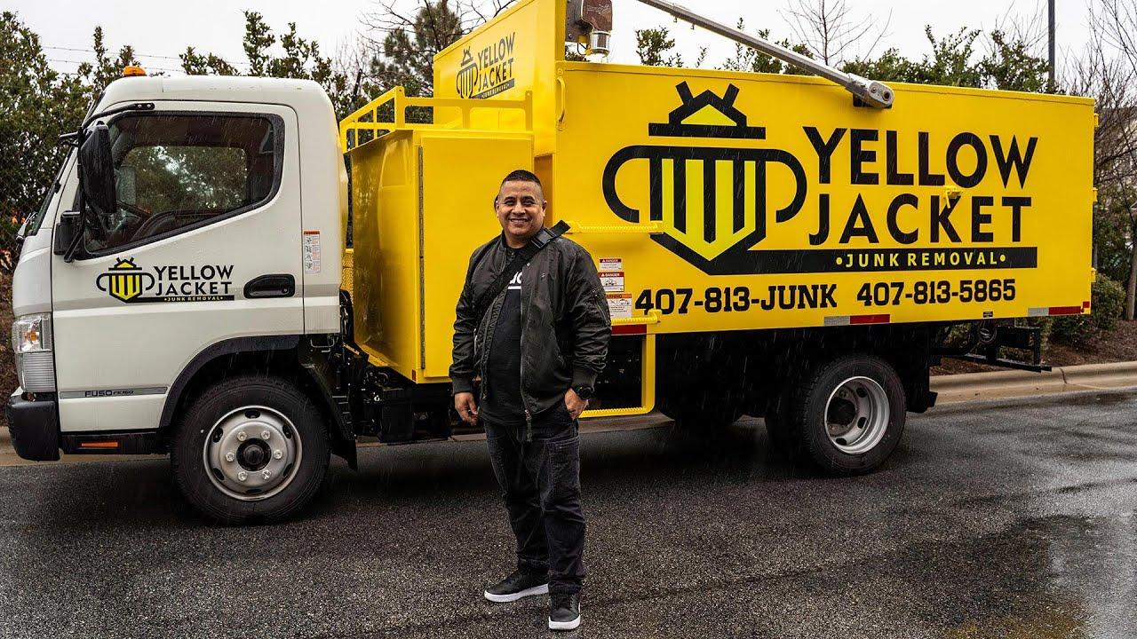 JRA Client Spotlight: Juan Figeuroa, Owner of Yellow Jacket Junk Removal