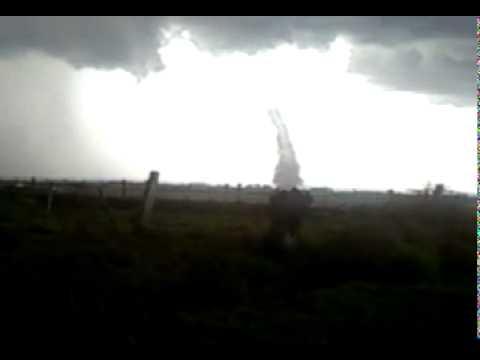 Possível tornado em Capivari do Sul