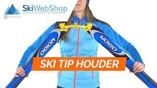 KnowHow, Ski easy lock, accessori, bambino, rosso