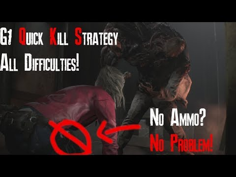 Resident Evil 2 | William (G1) - Knife Only / No Damage