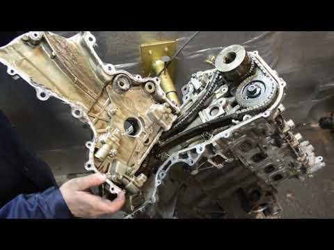 Разбор двигателя QR20-DD