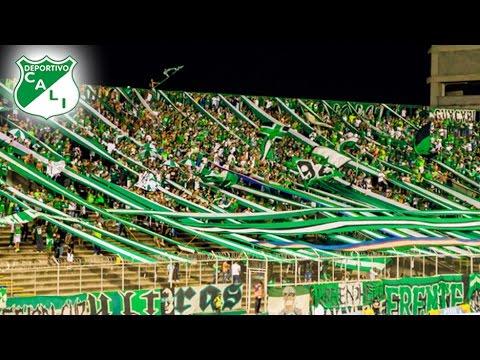 """Cali 2 - 2 Alianza Liga 2017 - Frente Radical Verdiblanco ALIENTO"" Barra: Frente Radical Verdiblanco • Club: Deportivo Cali"