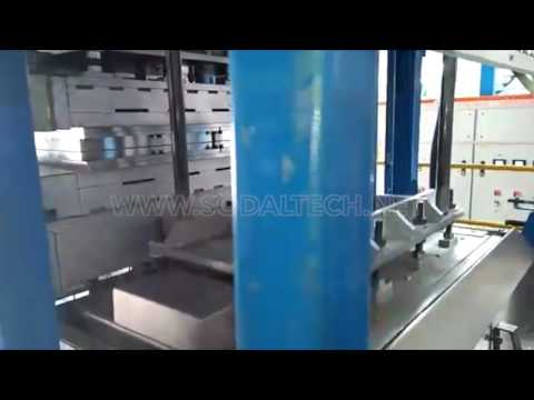 Automatic Disposable Sugarcane Bagasse Pulp Tableware Thermoforming Machine