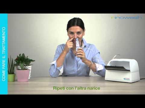 Rinowash, doccia nasale micronizzata per le vie aeree superiori