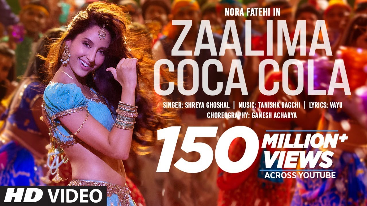 Zaalima Coca Cola Pila De Lyrics