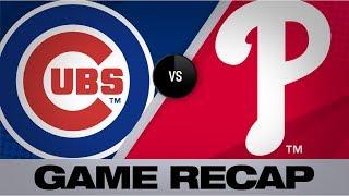 Harper's walk-off grand slam caps comeback | Cubs-Phillies Game Highlights 8/15/19