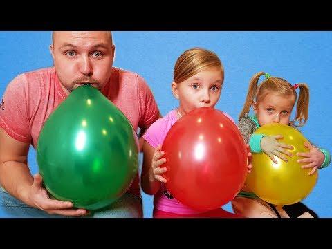 Color Balloons song / 교육으로 동요와 아기의 노래를 Mainan dan lagu anak-anak