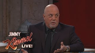 Billy Joel Jimmy Kimmel Live! Interview (Part 2)