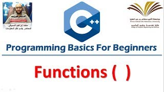Download Youtube: 8- Programming with C++ , Functions  برمجة