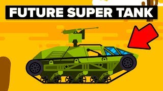 Future US Army / Military Luxury Super Tank - The Ripsaw