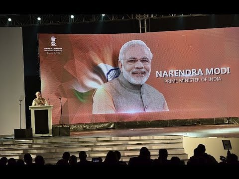 PM Narendra Modi and PM of Sri Lanka inaugurate Global Conference on Cyber Space