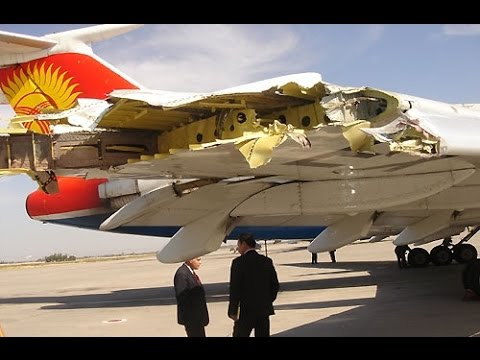 Ту 154  полёт без крыла, самый надёжный самолёт-США в шоке!