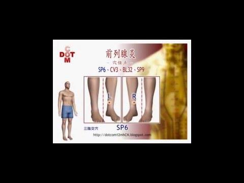 Appareil pour le traitement de lavis de la prostatite chronique
