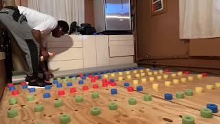 Christopher Charles McDaniel's DIY Sprung Dance Floor At Home
