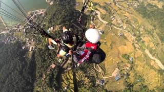 preview picture of video 'Paragliding'