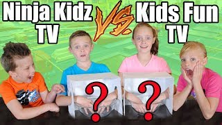 Kids Fun TV Compilation Video with Ninja Kidz TV: Twin VS Twin Challenges & Girls VS Boys Challenge!