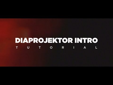 VINTAGE DIAPROJEKTOR INTRO - FCPX Tutorial - Quick Tips #11