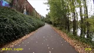 preview picture of video 'Paris - Polygone du Bois de Vincennes'
