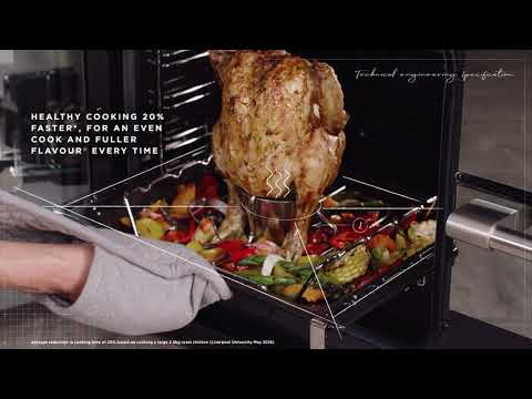 Stoves Range Cooker Dual Fuel ST-STER-DX-S1000DF-GTG - Various Colours Video 2