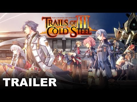 NISA announced Trails of Cold Steel III on PS4 for this Fall