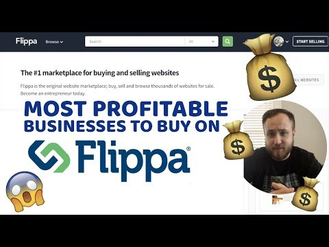 TWO PROFITABLE BUSINESSES TO BUY ON FLIPPA   AUCTION REVIEWS!