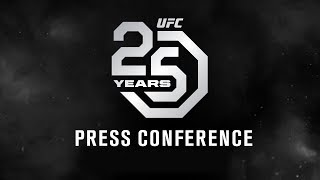 UFC 25th Anniversary Press Conference: Los Angeles