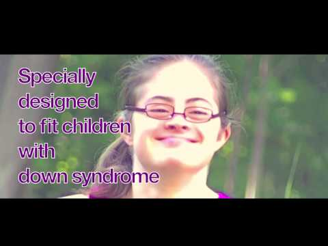 Screenshot of video: SPECS4US - glasses to fit children with Down Syndrome