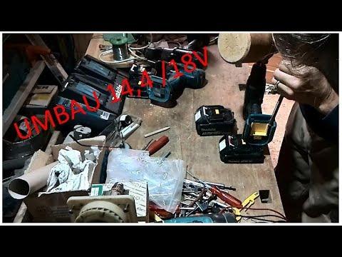 14,4V Makita  Akkuschrauber mit 18V Akku betreiben I Umbau