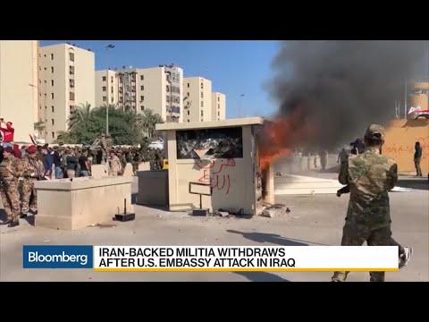 Iran-Backed Militia Attacks U.S. Embassy in Iraq