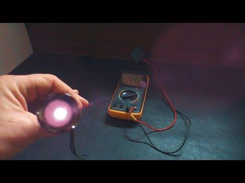 Передача электричества на расстояние инфракрасным светодиодом
